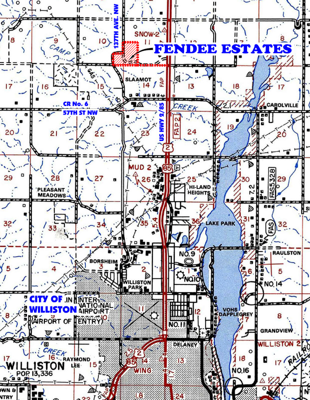 Fendee_Estates_Map
